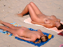 Beach: Hot sex on the beach videos and some really crazy beach voyeur movies where naughty chicks and candid nudists have fun forgetting about morality