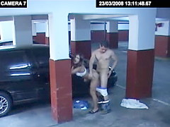 Security cams: Free security cam sex on videos that caught some dirty fucking in public including spicy scenes of office sex and porn in car on parking lot