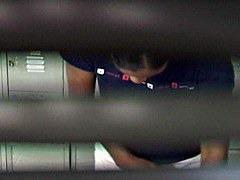 Window blind voyeur