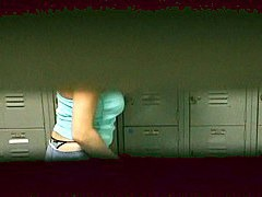 Locker-room XXX hidden camera