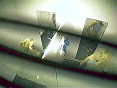 Voyeur scenes in fitting room