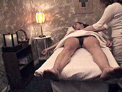 Hidden sex in massage parlor