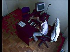 Voyeur vid with secretary