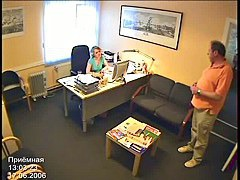 Voyeur cam features amateur girl doing oral and vaginal fuck