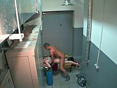 The true voyeur video of raunchy couple furiously pairing off