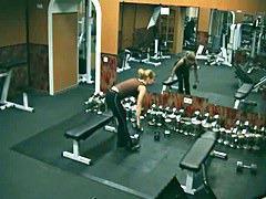 Doing sport naked