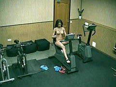 Naked on body builder