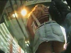 Terrific slow mo hidden cam video of an ass in motion