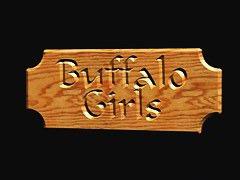 Upskirt scenes with wild girls riding the buffalo