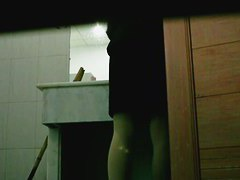 Video with girls pissing on toilet caught by a spy cam
