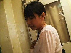 Small and pointy breasts look amazing in down blouse video
