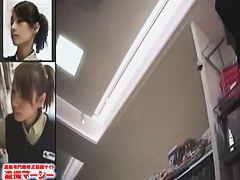 Wacky Japanese TV show with upskirt shots and multiple cameras