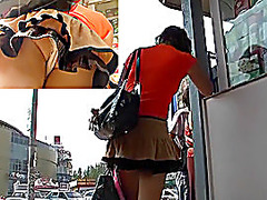 Cell phones aid to film upskirts