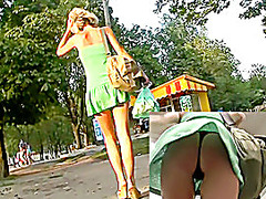 Blondes hawt totally real up petticoat