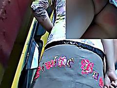 Super lovely panty up mini petticoat