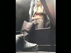 teen in dressing room 8