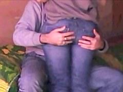 Slut Young Teen hidden cam HOT ASS Spyed