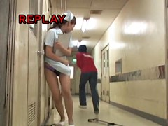 Girl with busy hands gets the sharking abuse