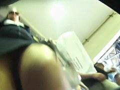 Exotic voyeur clip with upskirt scenes 2