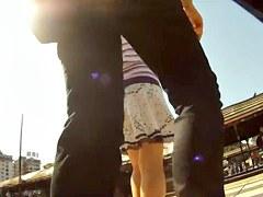 Best voyeur video with upskirt scenes 1
