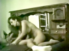 43640 Cheating wife riding and swallowing cum