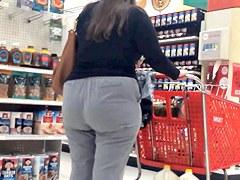 Dumpy Grey Pants Pawg BBW