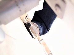 Toilet voyeur No.1502064 Exclusive video squat toilet voyeur in the Hospital outlook dyed TO-6093 THE
