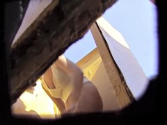 Changing room bottom pantieless on the voyeur scenes
