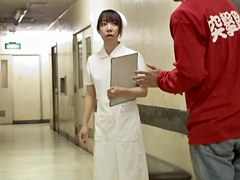 Beautiful nurse and the hot sharking story for her