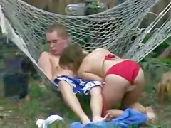 Teen Action in the BackYard