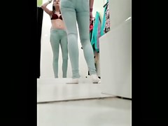 teen in the dressing room 6