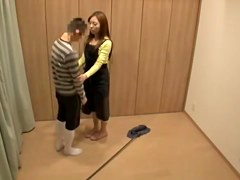 Filthy teen lovers hardly pairing off on spy cam video