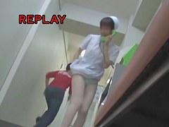 Silk panty nurse gets on the sharking video scenes