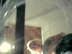 Hidden spy cam blonde milf erotic nude body top