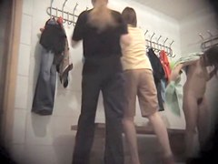Dressing room spy cam amateur goes out of her cloths