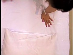 Medical spycam records Asian girl under intimate massage