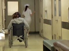Babe with wheelchair gets on the sharking vid