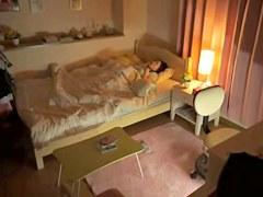 The best cure for insomnia is hidden camera masturbation