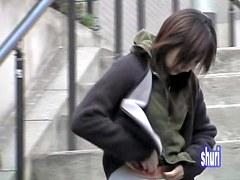 Cute hip hop girl got sharked in Japan without any notice