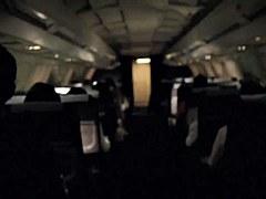 Risky Voyeur Cam Flashing in the Airplane