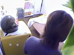 Asian couple recorded their hot sex on hidden cameras