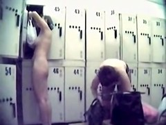 Horny changing room nudity on the spy camera