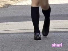 Schoolgirl didn't know she was filmed during skirt sharking