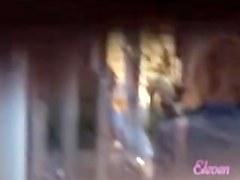 Street sharking video shows a hot Asian business woman
