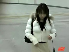Skirt sharking video  featuring a delicious Japanese hottie