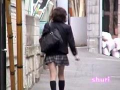 Japan sharking in the street free video