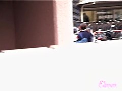 Teen Asian ass uncovered on hot sharking tape