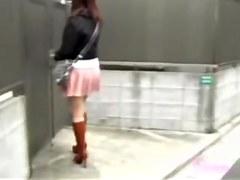 Japan beauty participating on sharking vid