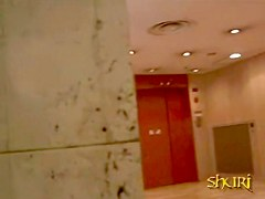 Mall sharking video of some very attractive slim Japanese girl