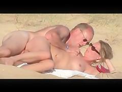 Nude Beach - Side Fuck & Fingering
